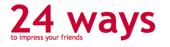 Logo: 24 ways - to impress your friends